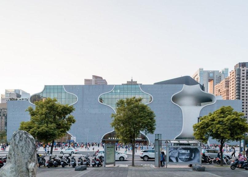 Toyo Ito's Taichung Metropolitan Opera House in
