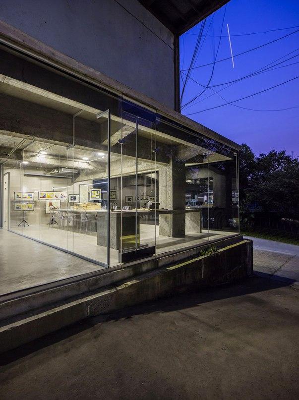 Часть 1. Офис архитектурной студии Studio QI