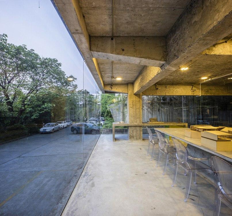 Часть 2. Офис архитектурной студии Studio QI