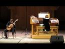 12 - А. Вивальди концерт ре минор для гитары, альта и струнных, RV 540 переложение для гитары и органа часть 3.