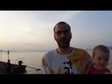Прогулка по пляжу Липа Ной острова Самуи