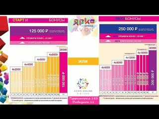 Маркетинг план Эйвон Онлайн !Как заработать с Avon от 250 тыс р!