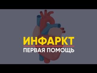 Инфаркт Миокарда  Первая ПОМОЩЬ / Что делать