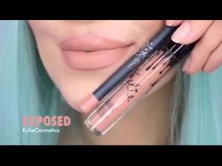 Барвиха Shop - Оттенки помад и блессков в одном видео ( Косметика Kylie )