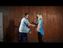 West Coast Swing. Сергей Бессонов и Мила Карпова. Dancing Company, Нижний Новгород