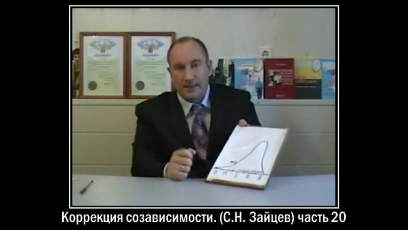 Коррекция созависимости (СН Зайцев) часть 20 (Клиника Маршака)