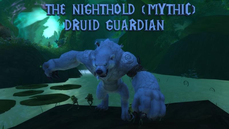 The Nighthold Mythic (Guardian druid POV) \\ Цитадель Ночи Мифик (Друид- Страж)