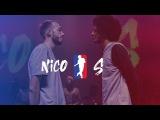 NICO vs Stephane Deheselle aka
