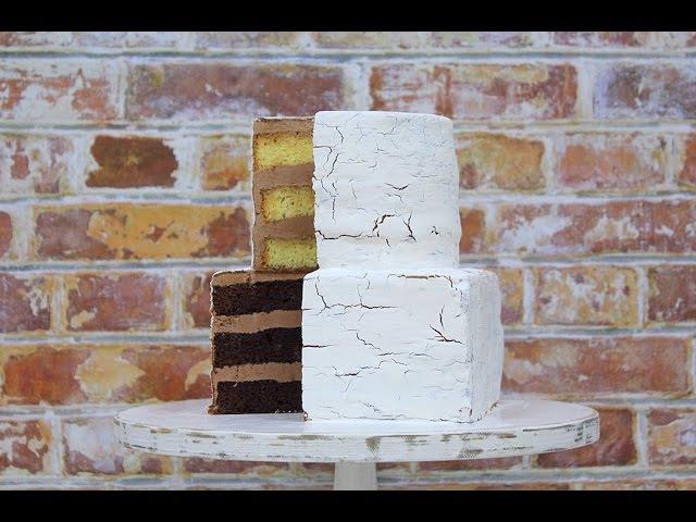 Бисквитный торт Кракелюр /Craquelure Cake