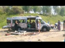 ДТП с участием маршрутки под Ангарском 18 пострадавших, Вести-Иркутск