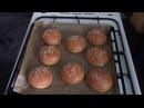 Американский рецепт быстрого приготовления булочек для гамбургеров и хот догов