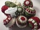 Ophelia Talks about Crochet Christmas Baubles