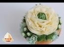 ( lakomkavk) Мастер класс по цветам из корейского масляного крема: белый лизиантус