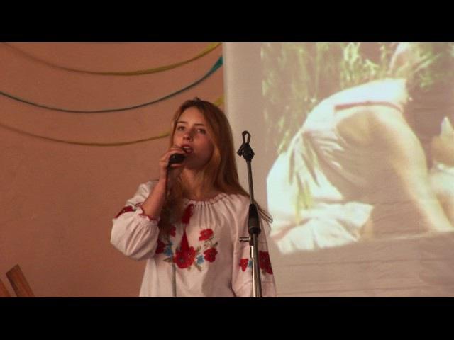 Україно, мій вишневий дивоцвіт