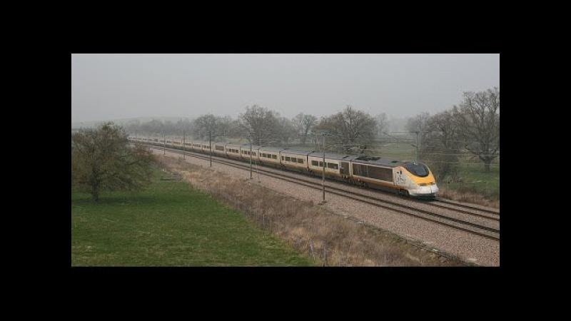 TGVs sur LGV-Mars 2014
