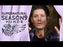 Supernatural Season 9 HUMOR Oh Cas such a flirt