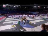 Brent Fikowski and Mat Fraser 1RM snatch event CrossFit Games 2017