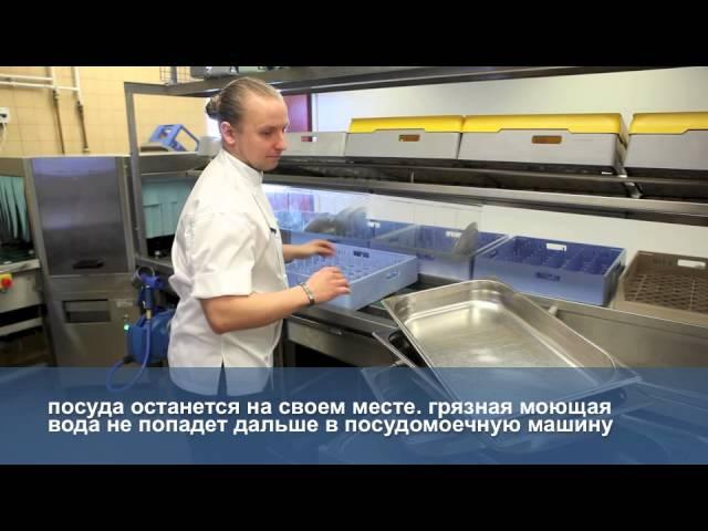 Практические советы по мытью посуды в профессиональной кухне выбирайте подходящую корзину