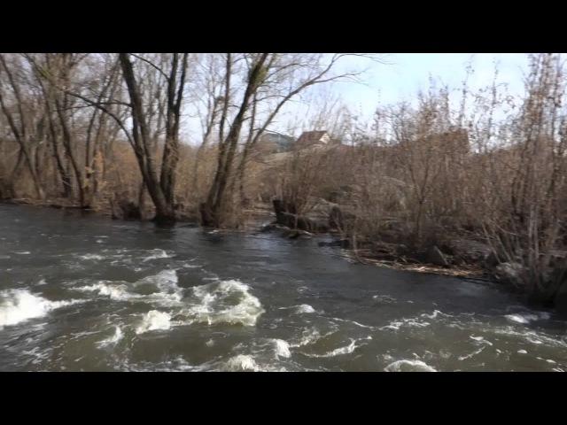 Весняний Богуслав. Річка Рось