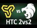 [EN] aizy cajunb vs XANTARES Calyx, mirage, HTC 2v2 Invitational [ north_csgo]