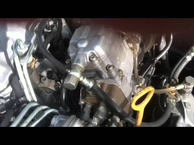 Регулировка угола впрыска AUDI A6 2,5 AEL