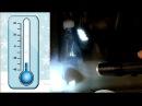 Тест синтетического масла Лукойл на замерзание - 25гр.