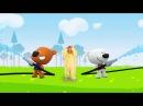Мишки Мимимишки мультфильмы для детей. Снялся в мультике. Mishki mimi mishki cartoons for kids