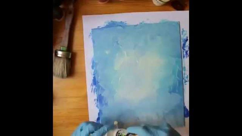Tuvale yağlı boya resim nasıl yapılır