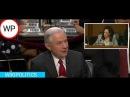HEATED EXCHANGE AG Jeff Sessions vs Sen  Kamala Harris  Senate Intelligence hearing