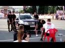 Чемпионат по силовому экстриму, Омск 2017 Становая тяга автомобиля