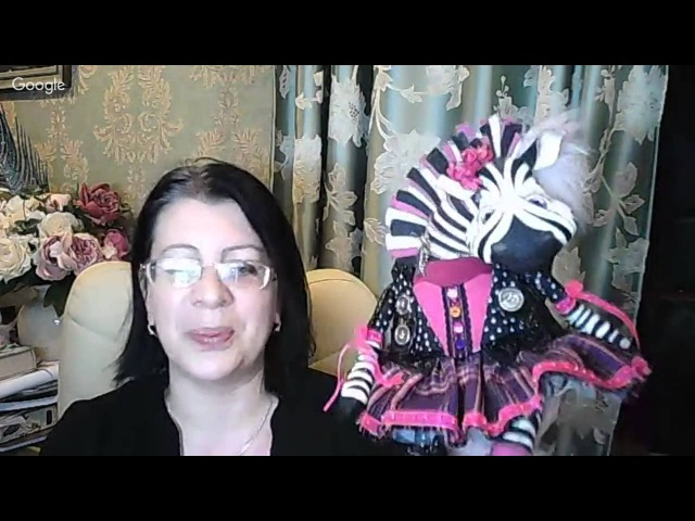 Куклы и игрушки: творим вместе. День 13. Анастасия Голенева