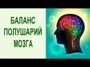 Йога для мозга. Упражнение для балансировки левого и правого полушарий головного мозга за 2 минуты