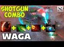 WAGA SHOTGUN DAGON COMBO Bloodseeker Dota 2