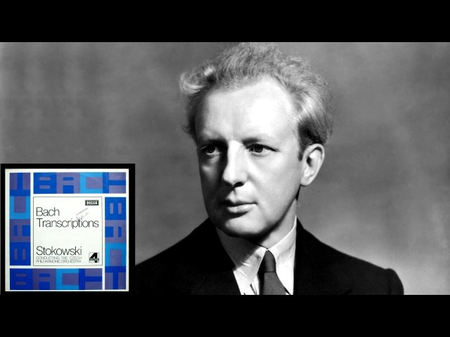 J.S.Bach: 1. Toccata And Fugue In D Minor, BWV 565 [Stokowski]
