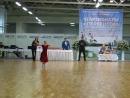 Соревнования по спортивным бальным танцам. Медленный вальс, Квикстеп. Ксюша.