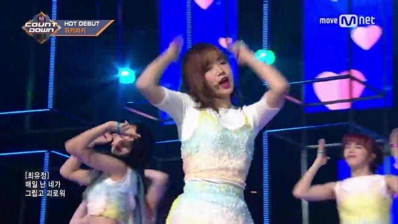Weki Meki Stay with Me Debut Stage M COUNTDOWN 070810 EP 036