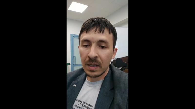 Прямой эфир с директором Высшей школы ИТИС КФУ Айратом Хасьяновым