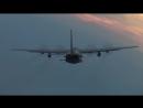 AC-130 Gunship Firing - Monstrously Powerful Cannons Gattling Guns In Action