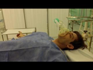 ЭВР. Битва сильнейших: Александр Шепс - Вмешательство хирургов после испытания