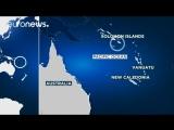 Сильное землетрясение у Соломоновых островов
