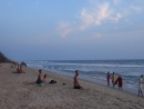 Дикий пляж, южный клиф в Варкале (Индия)