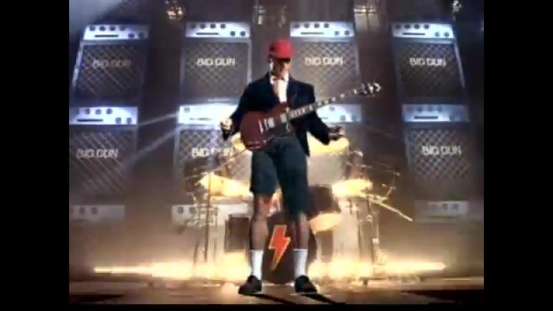 AC-DC - Big Gun (Official Video)