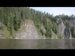 Приток Енисея - река Мана. 2015 г.