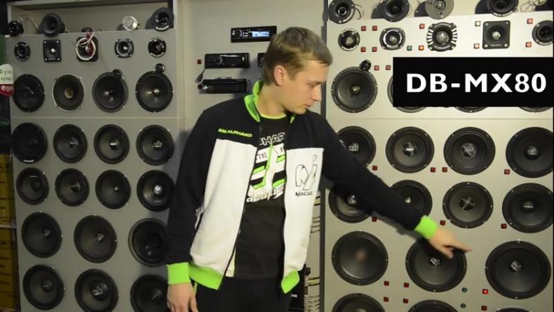 Обзор и Прослушивание Динамиков Deaf Bonce DB-MX80