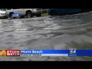 Severe Flooding Impacting Parts Of Downtown And Miami Beach