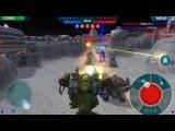 War Robots Шальной взвод,необычная сборка роботов! WR Bratycha
