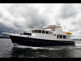 Selene 66' Trawler Yacht. Luxury long range trawler