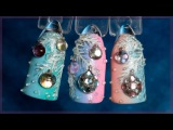 Новогодний дизайн ногтей - Шарики, игрушки на елке. Маникюр елочные украшения