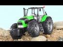 Мультик Трактор едет - Трактора для Детей Строительные Машинки Мультфильмы