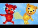 Mega Gummy bear farting finger family nursery rhymes for children Gummybear Toys fun